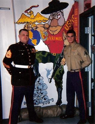 GySgt Hillestad and Sgt Fox RSS WEST Co